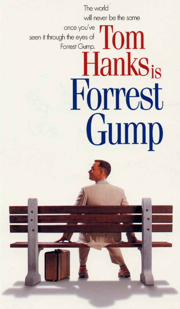 forrest gump poster 1994 tom hanks