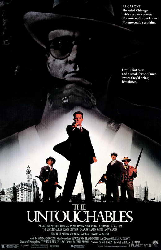 the untouchables movie poster 1987 1020205095