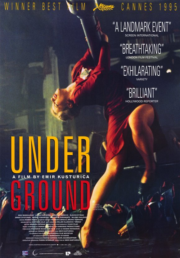 underground movie poster 1995 1020200919
