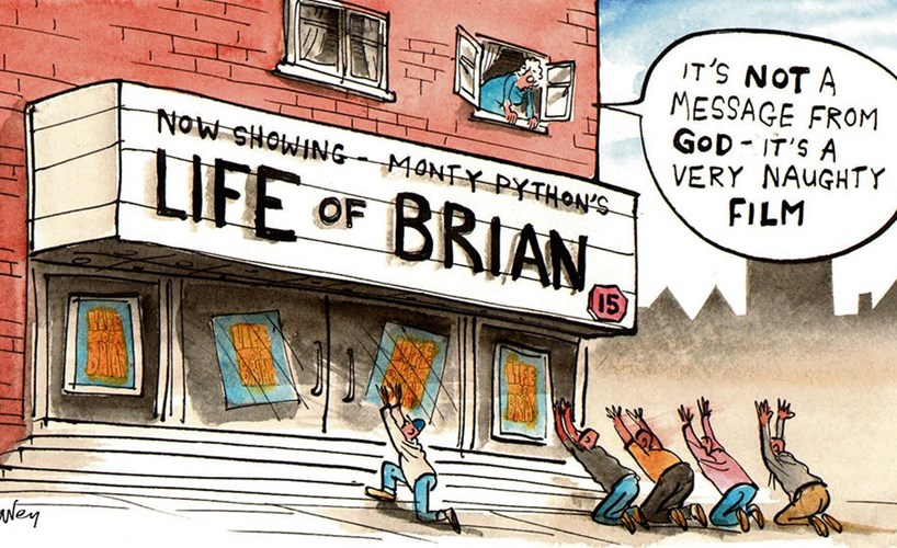 comment cartoon life of brian web